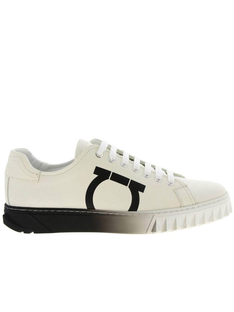 Salvatore Ferragamo Sneakers Shoes Men Salvatore Ferragamo - white