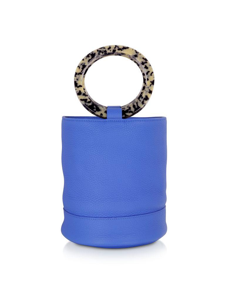 Simon Miller S804 Leather Bonsai 20 Cm Bag - Electric Blue
