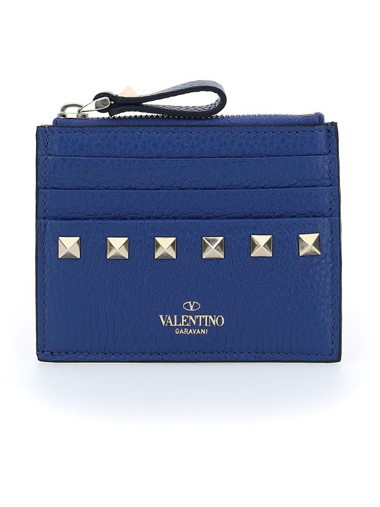 Valentino Garavani Card Holder - Blu delft