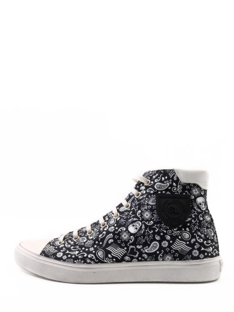 Saint Laurent Sneakers Skull Print - Black/white