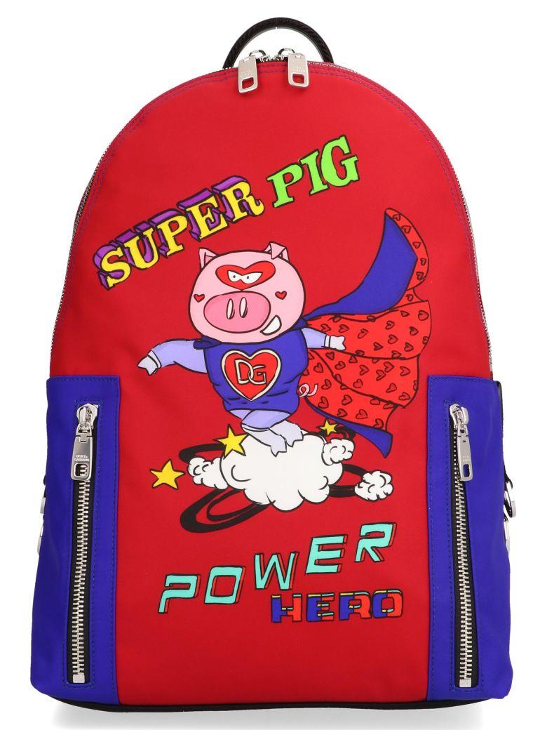 Dolce & Gabbana 'super Pig' Bag - Red