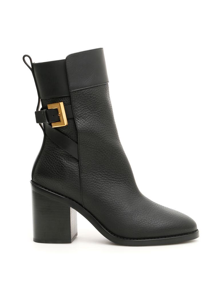 Stuart Weitzman Joplin Boots - BLACK (Black)