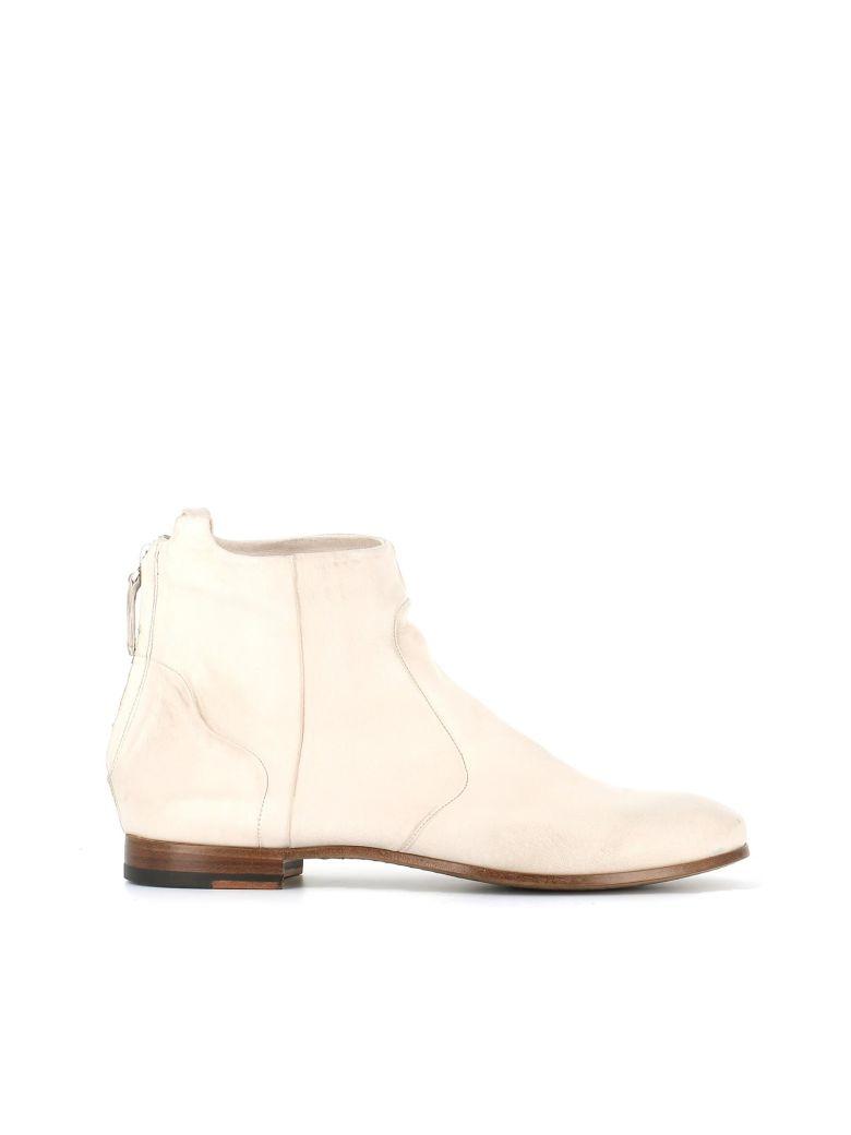 Silvano Sassetti Ankle Boots Zip - White