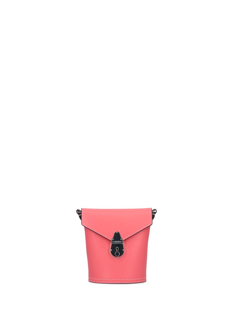 Calvin Klein Lock Micro Bucket Bag - Pink