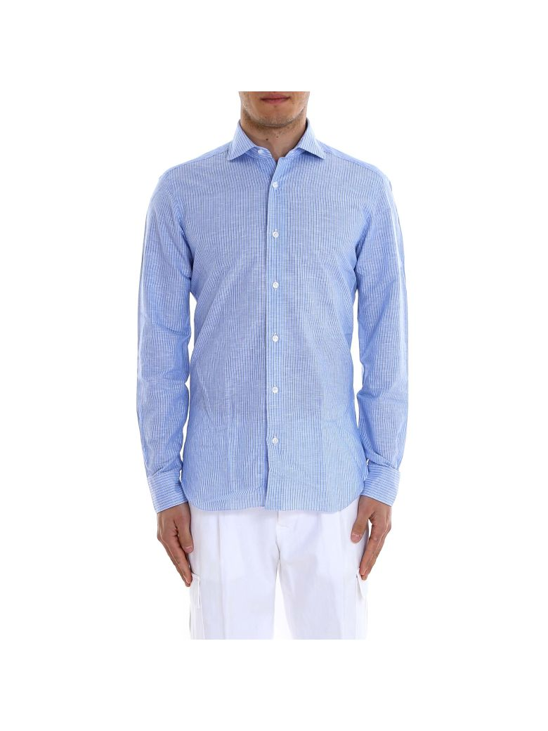 Barba Napoli Dandy Life Shirt - Blue