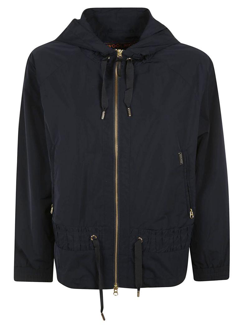 Woolrich Zipped Hooded Jacket - Black