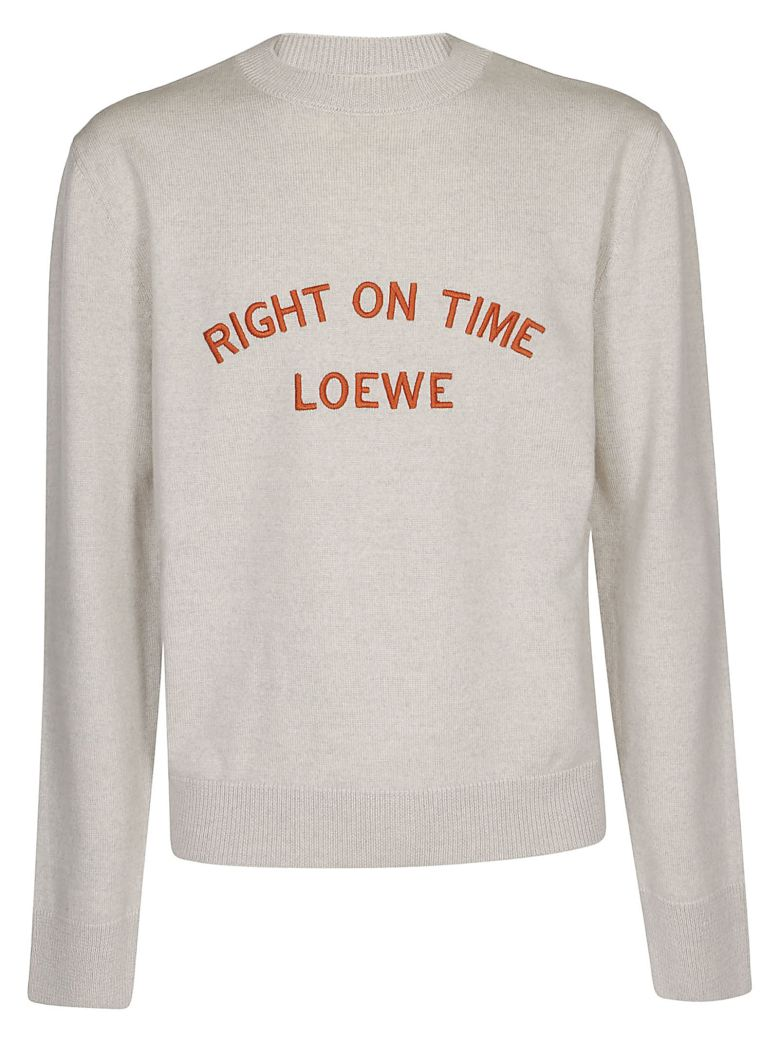 Loewe Right On Time Jumper - Grey