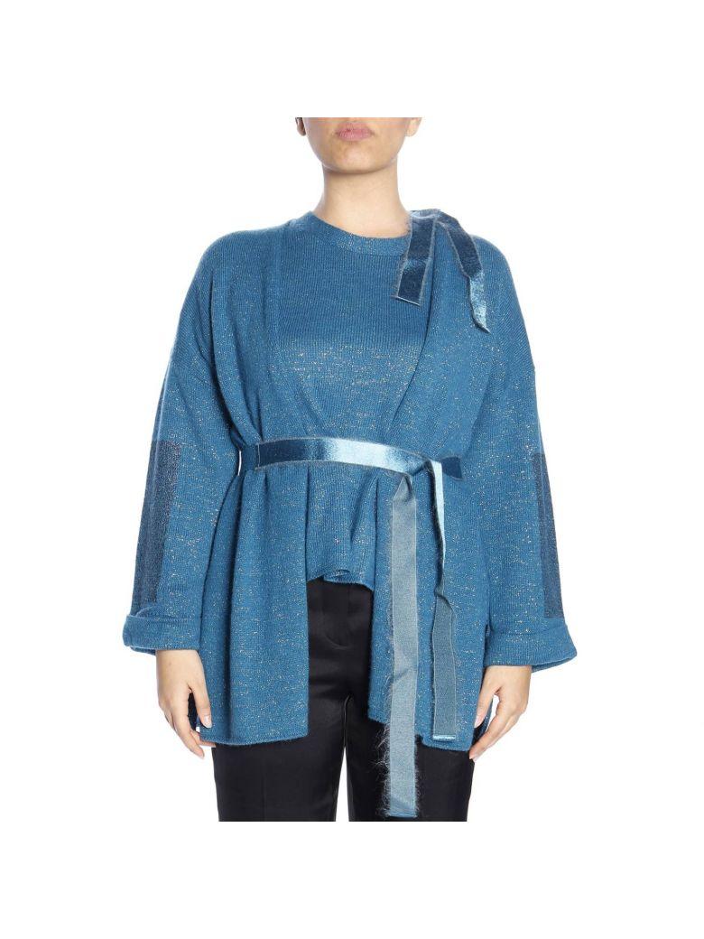 Marina Rinaldi Sweater Sweater Women Marina Rinaldi - royal blue