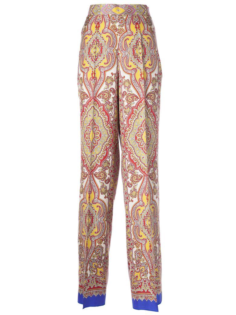 Etro Flared Trousers - Multicolor