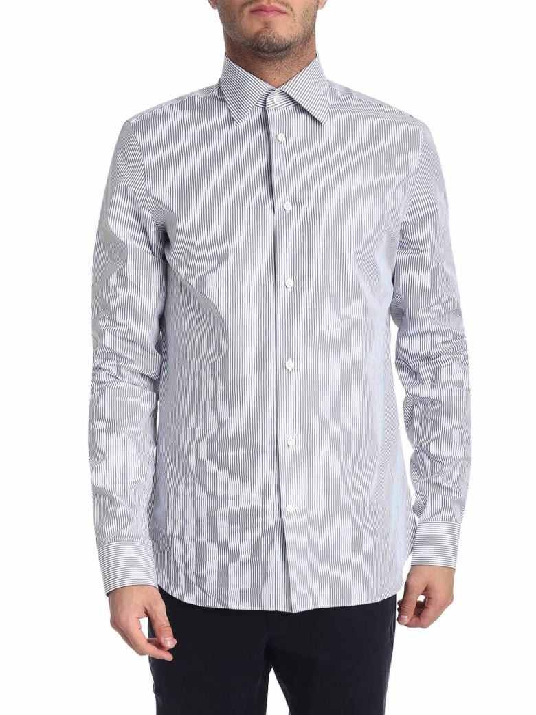 G. Inglese Cotton Shirt - Blue