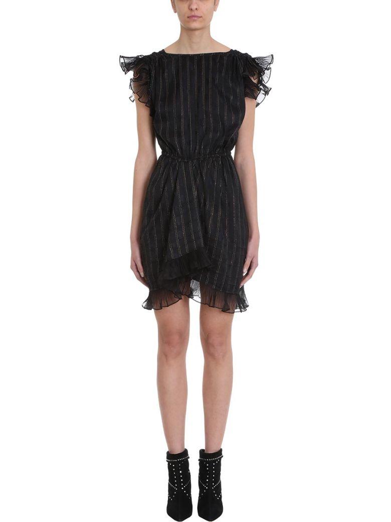 Isabel Marant Marisa Black Lurex And Viscose Dress - black