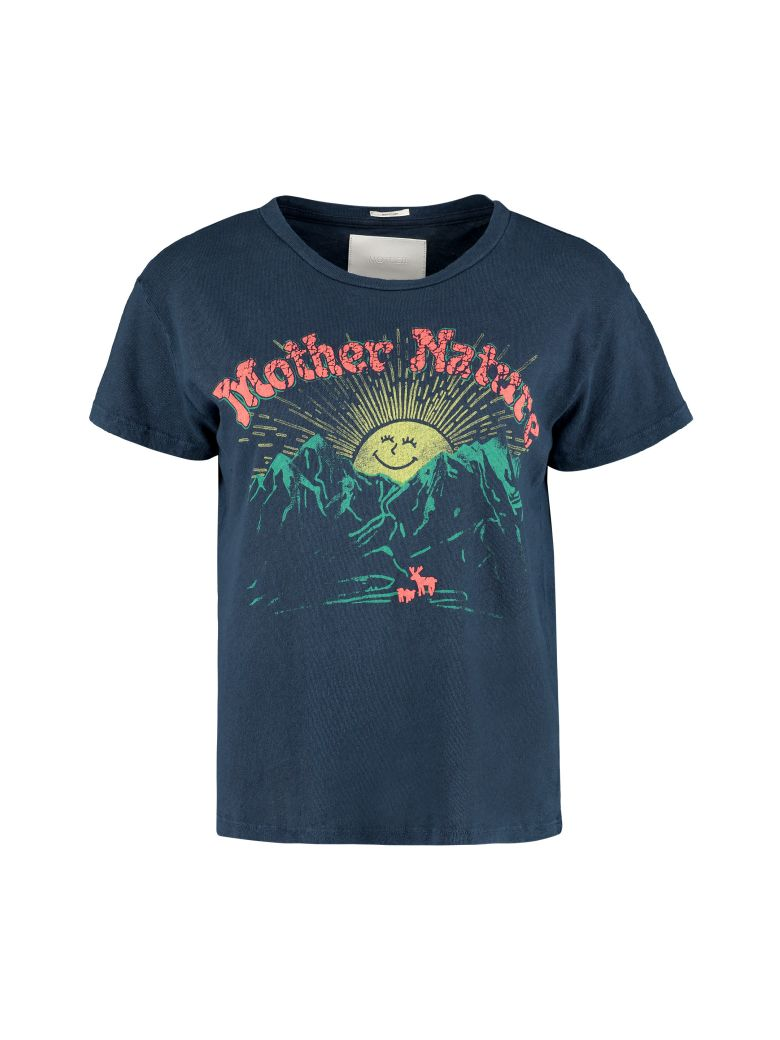 Mother Mother Nature Crew-neck T-shirt - Mother Superior - blue
