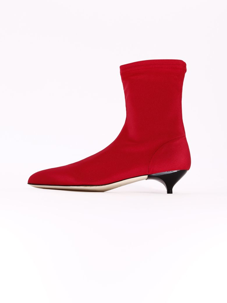 GIA COUTURE Ankle Boot Red - Red