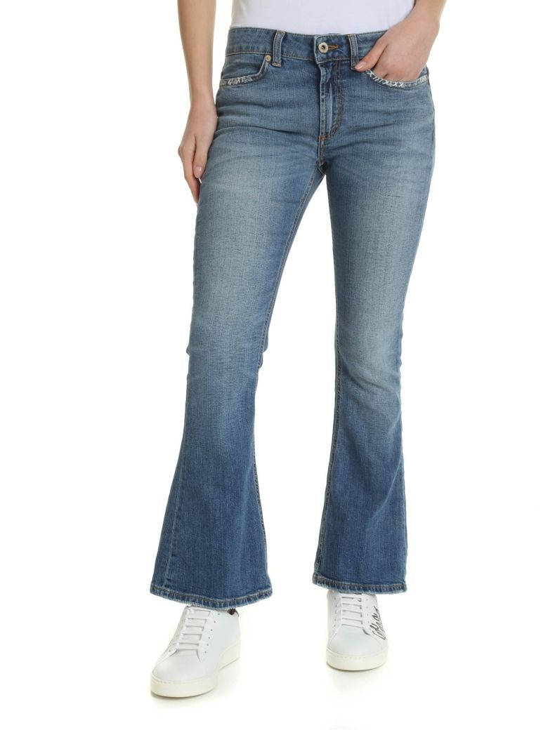 Dondup Adler Flared Jeans - Super stone