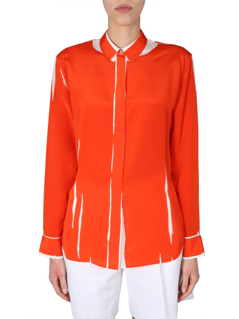 Paul Smith Long Sleeve Shirt - ARANCIONE