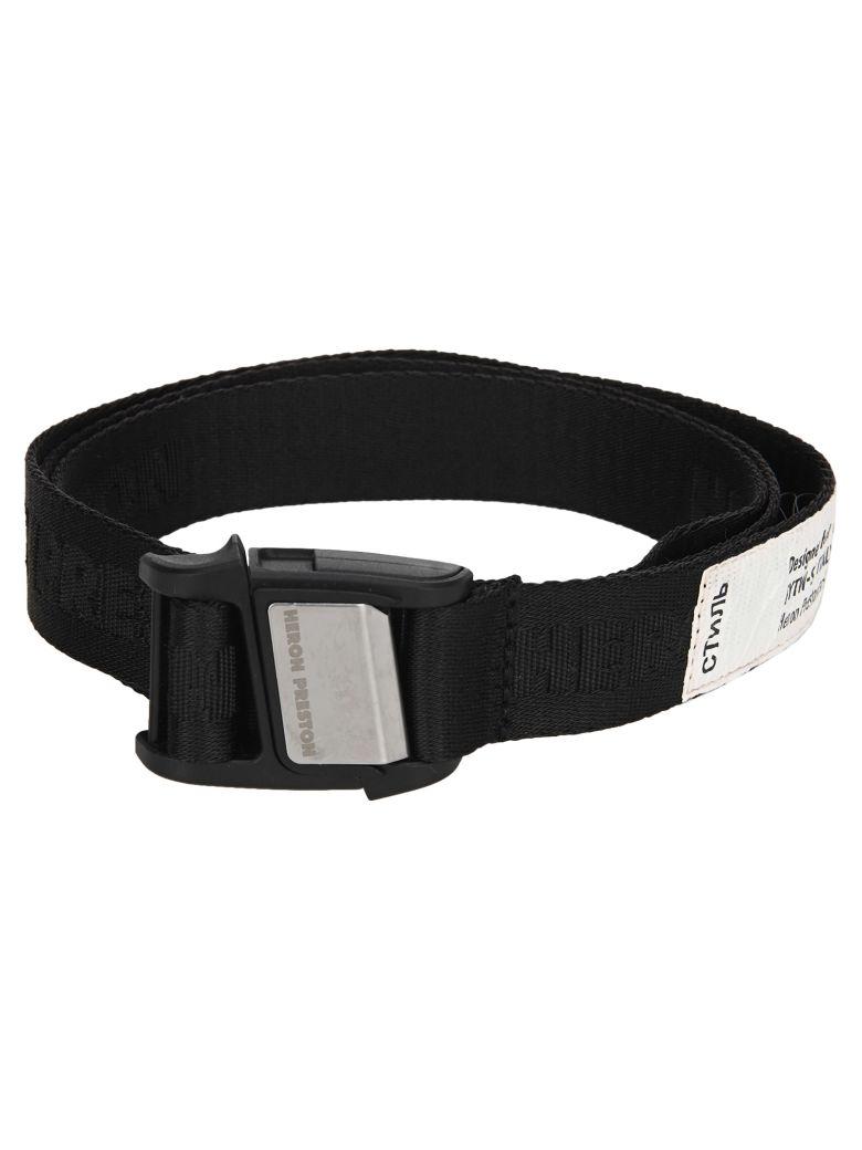 HERON PRESTON Tape Belt - BLACK