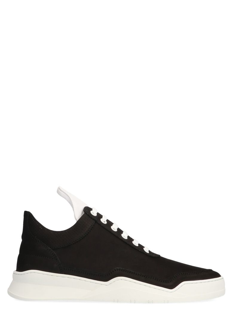 Filling Pieces 'ghost Collar' Shoes - Black