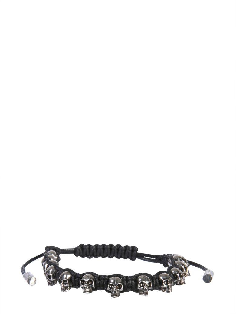 Alexander McQueen Multi Skull Bracelet - NERO