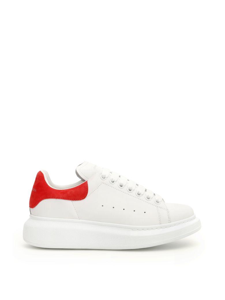 Alexander McQueen Oversized Sneakers - WHITE LUST RED (White)