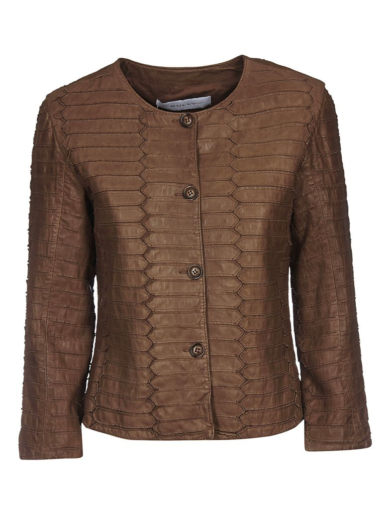 Bully Patterned Jacket - Brown
