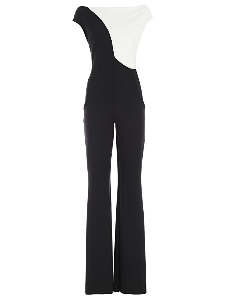 La Petit Robe Di Chiara Boni Jumpsuit - Bianco Nero