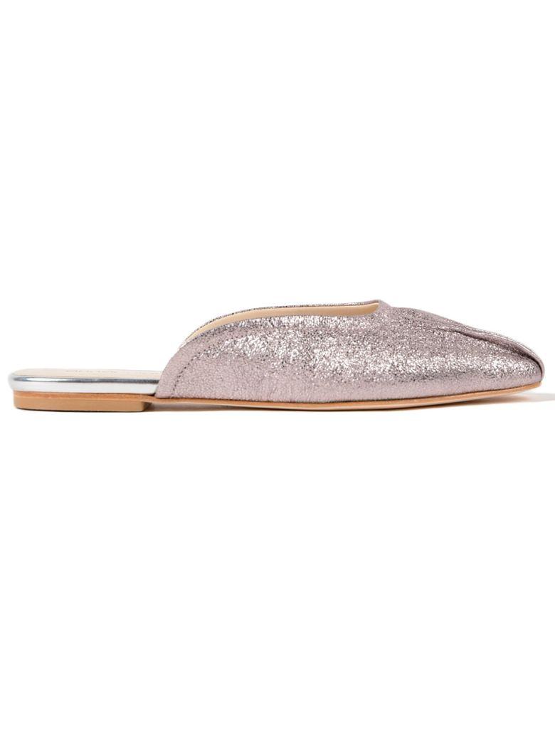 Anna Baiguera Rosa Slippers - Crackled Antique