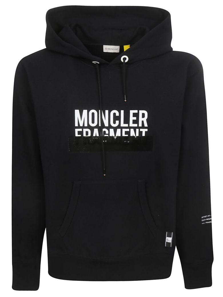 Moncler Genius Logo Hoodie - Black