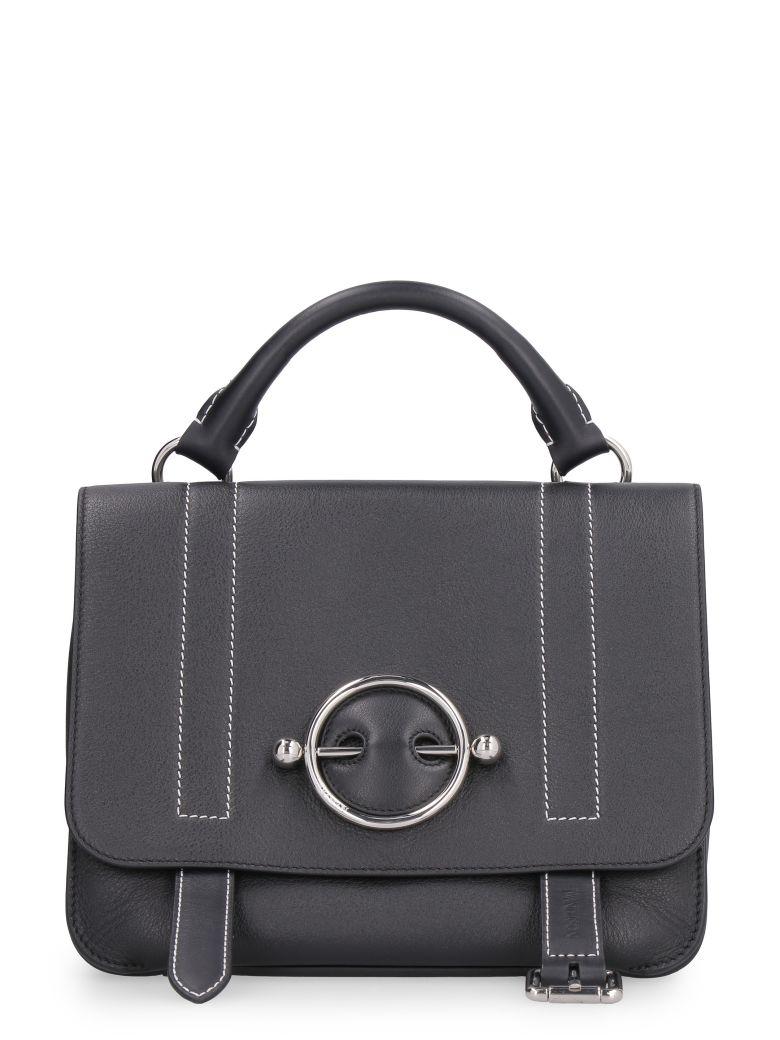 J.W. Anderson Disc Leather Handbag - black