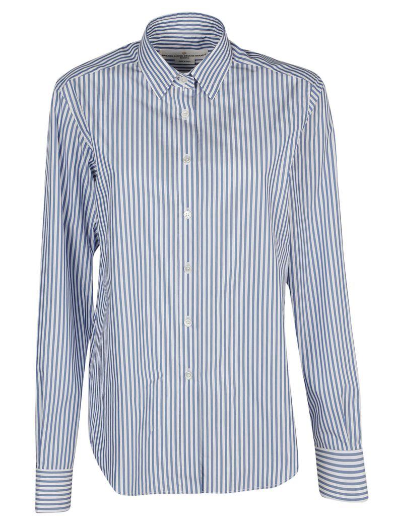 Golden Goose Kelly Shirt - Blue/white stripes