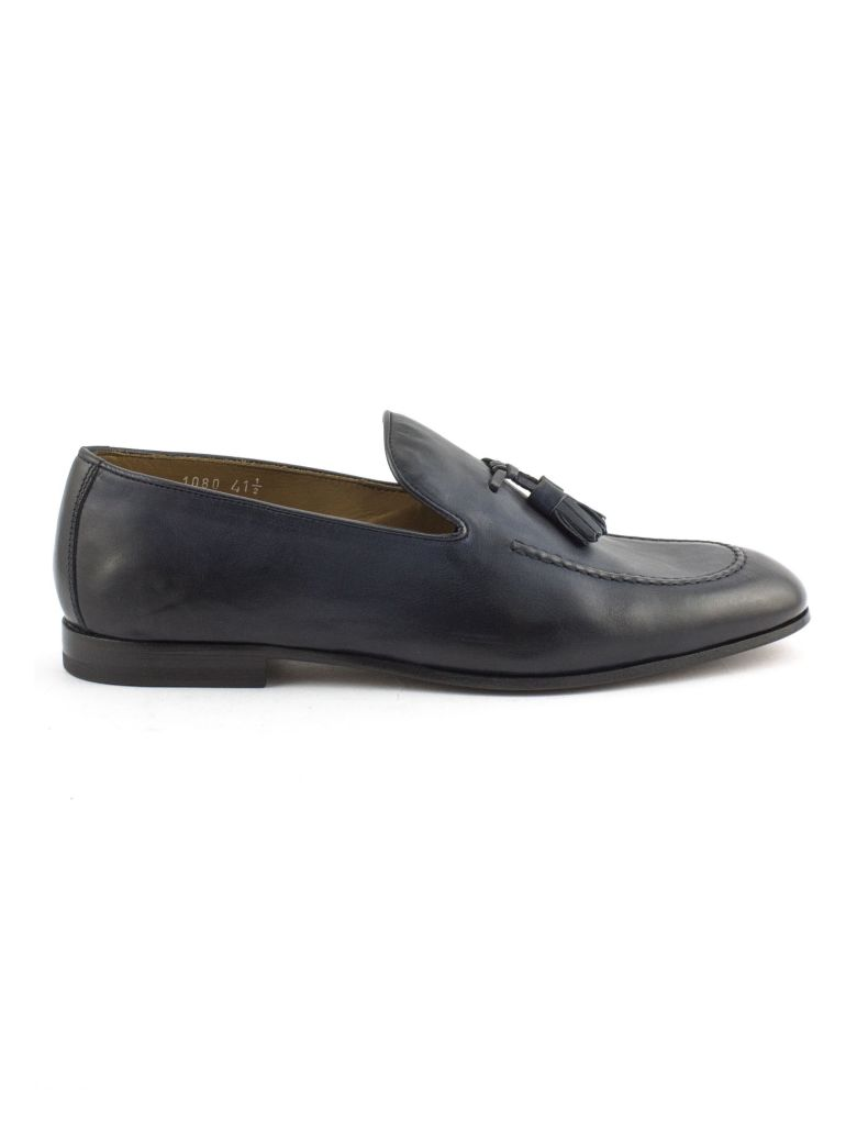 Doucal's Blue Soft Leather Loafer - Blu