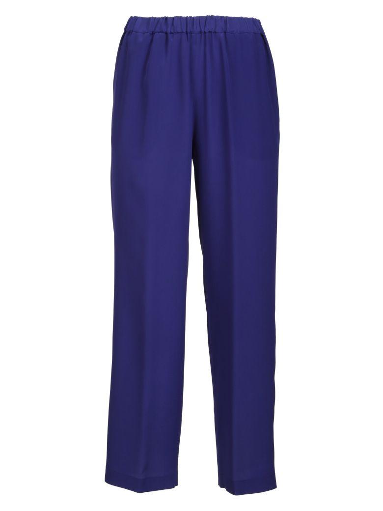 Aspesi Cropped Flared Trousers - Blue