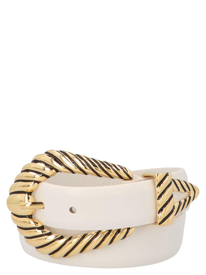 Alberta Ferretti Belt - White