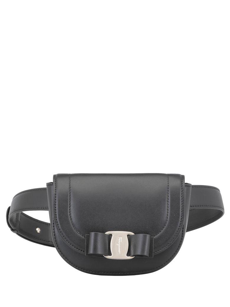 Salvatore Ferragamo Vara Belt Bag - Black