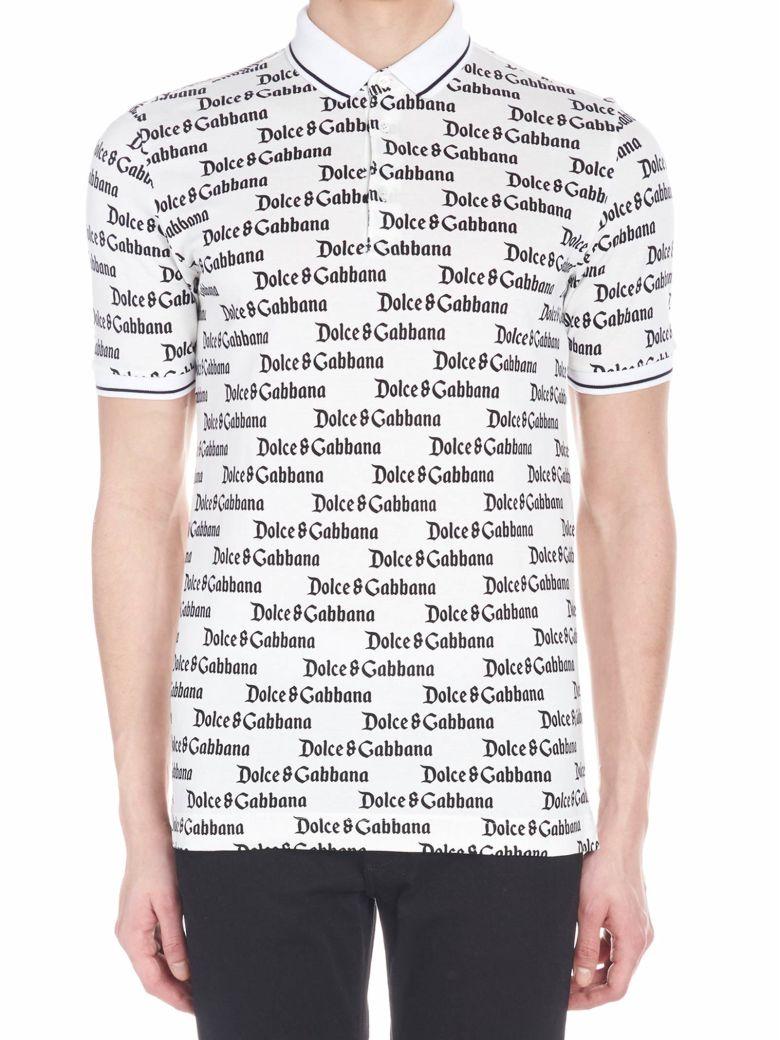 Dolce & Gabbana 'dg Gotico' Polo - White