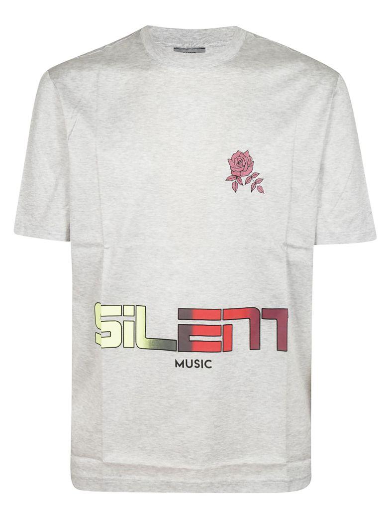 Lanvin Silent Music T-shirt - Light Grey