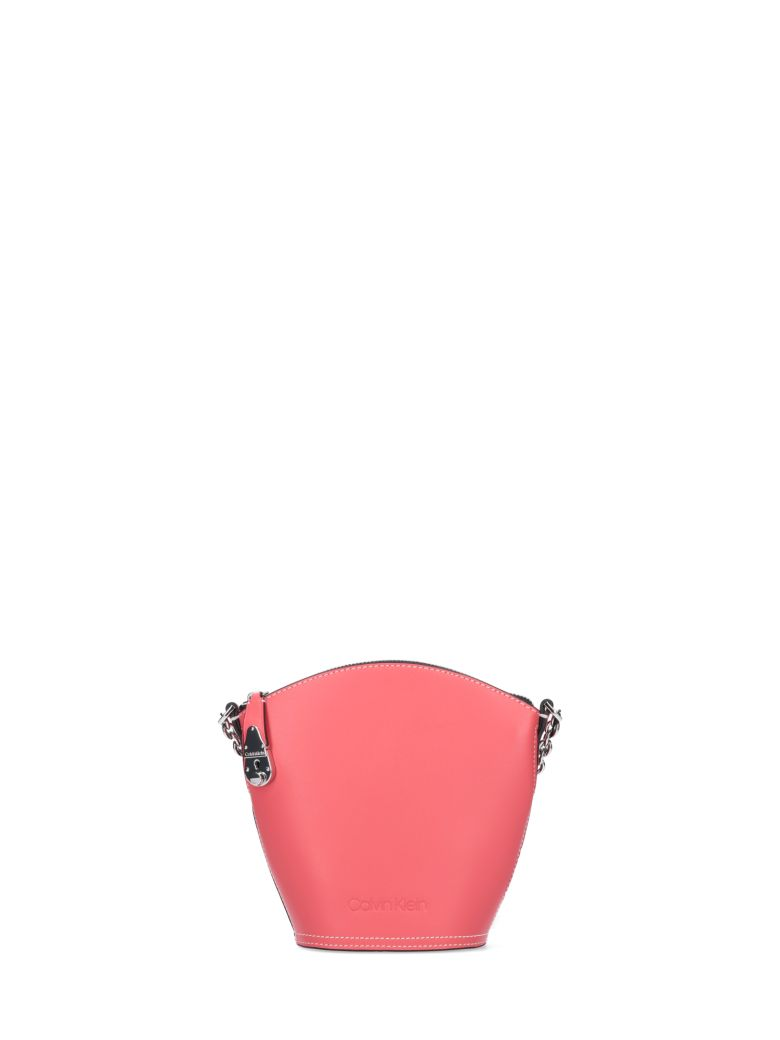 Calvin Klein Lock Bucket Bag - Pink
