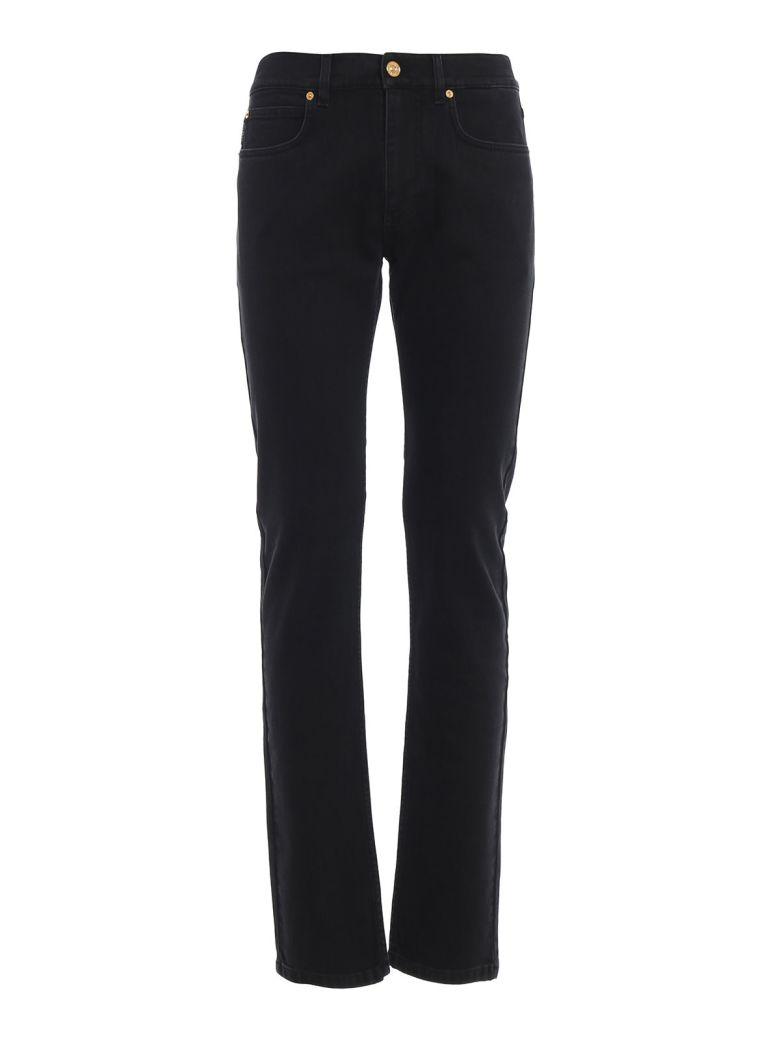 Versace Straight Leg Jeans - Black