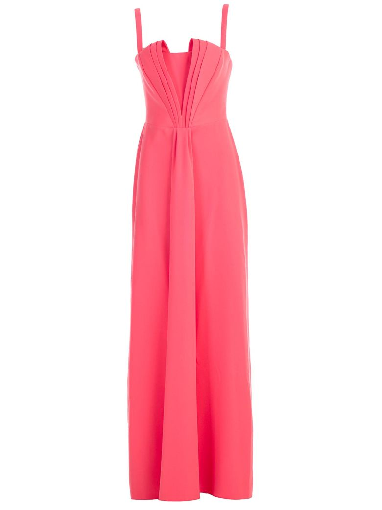 Emporio Armani Stiff Bodice Dress - Orange