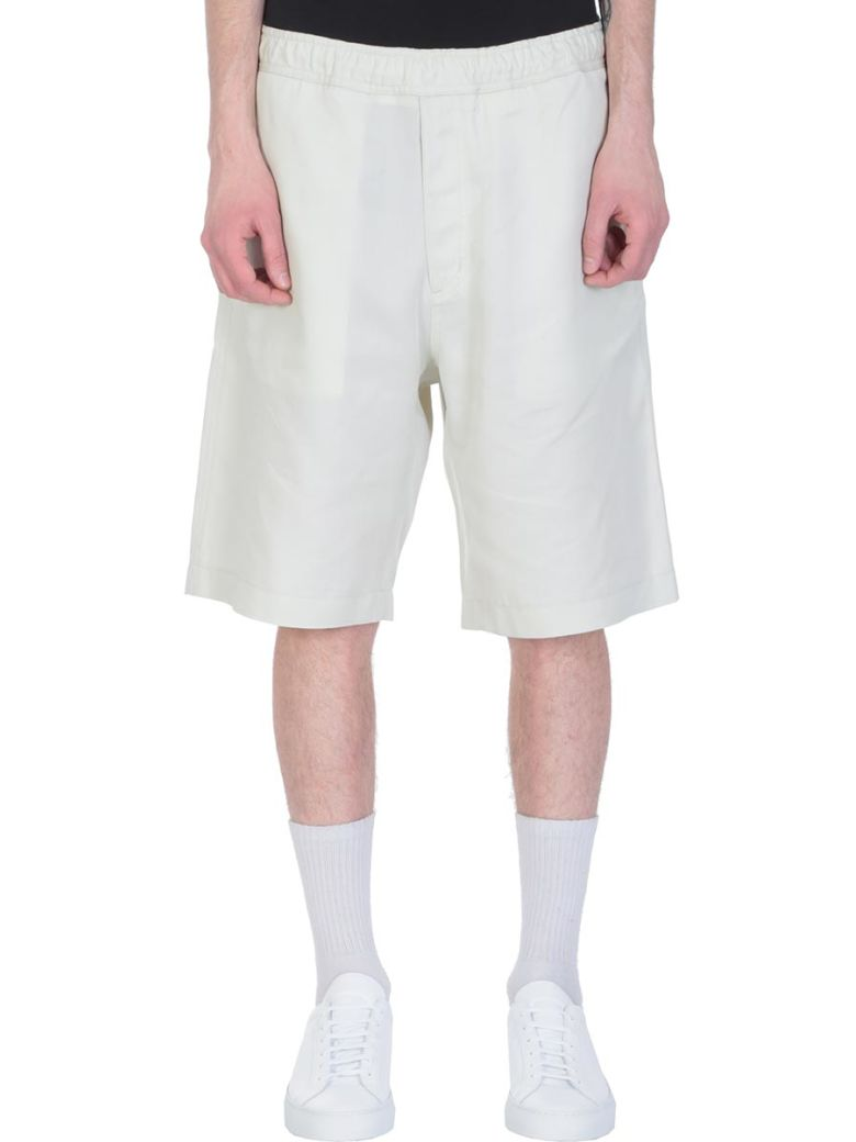 Our Legacy Green Cotton Shorts - green