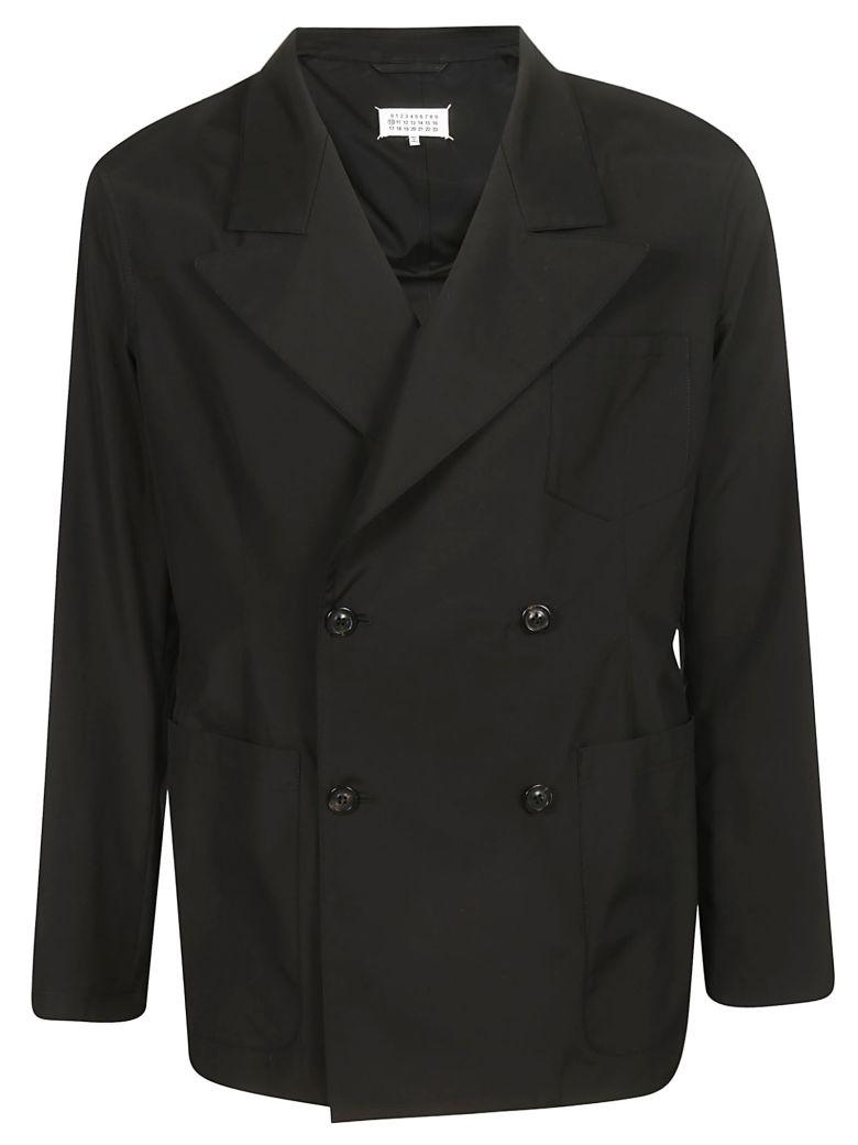 Maison Margiela Double Breasted Blazer - Black