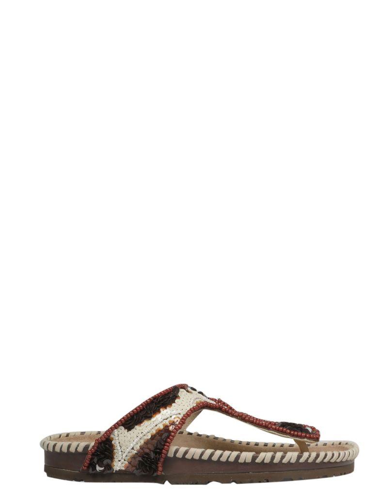 9d8e7cc72ded9 Malìparmi Maliparmi Beaded Sandals - Basic - 10882051