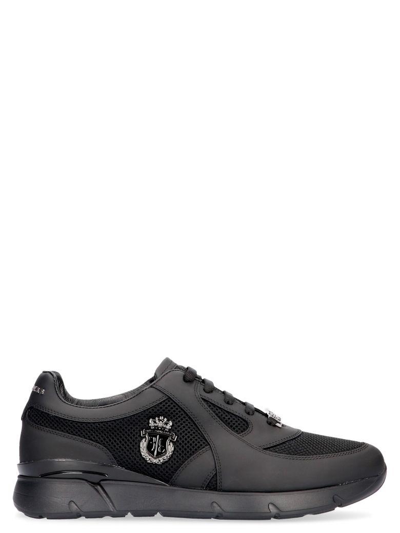 Billionaire 'runner Crest' Shoes - Black