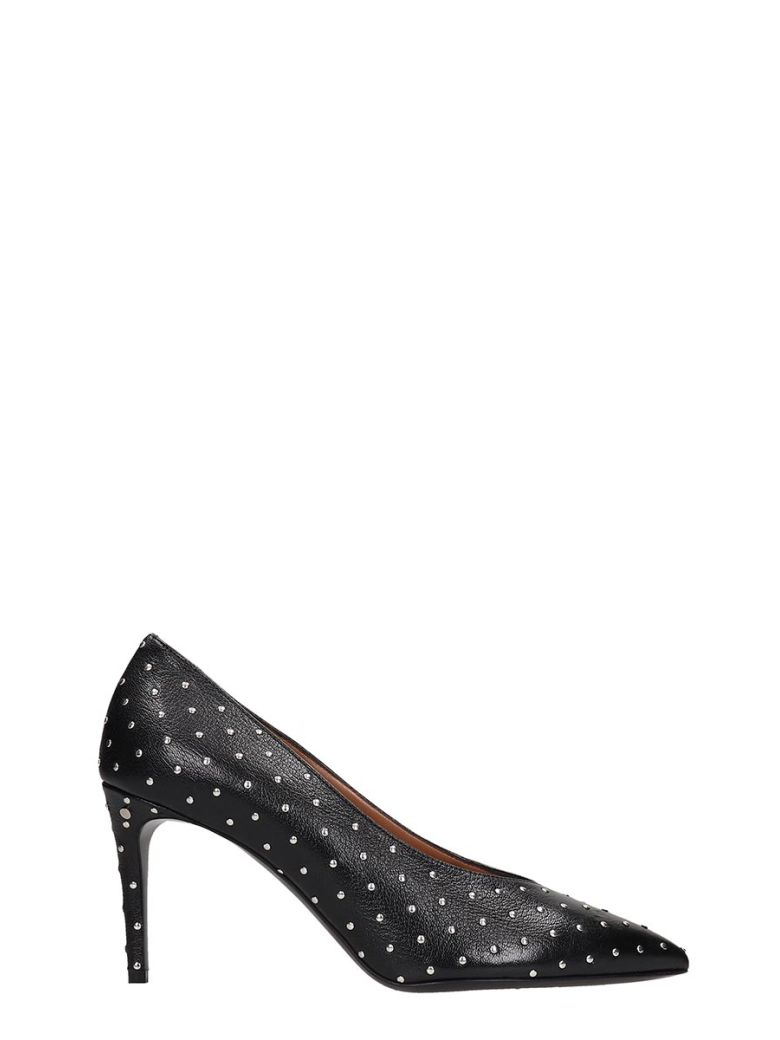 Laurence Dacade Pumps In Black Leather - black