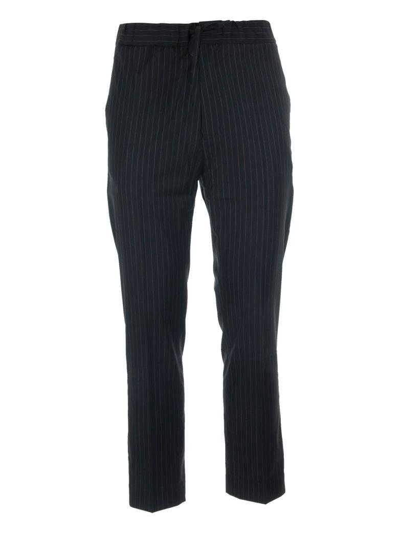 CMMN SWDN Stan Drawstring Trouser - Nero/beige