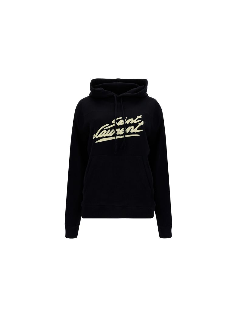 Saint Laurent Hoodie - Noir/naturel