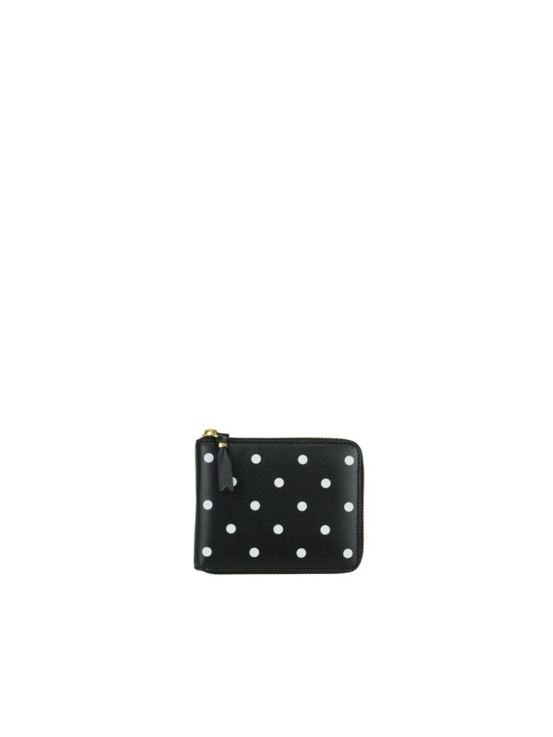 Comme des Garçons Wallet Dots Wallet - Black