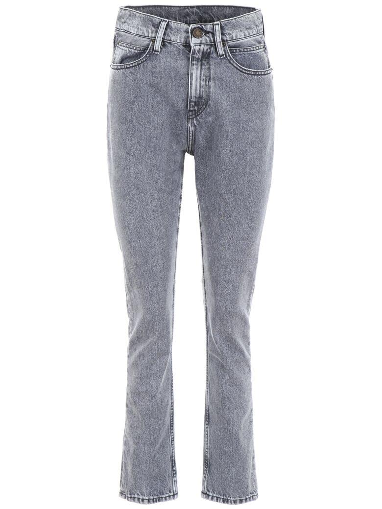 Calvin Klein Jeans With Narrow Hem - MACHO BLACK (Grey)