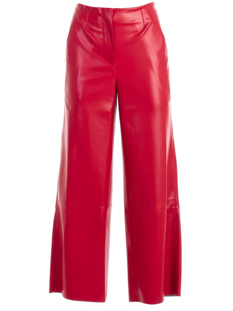 Nanushka Cropped Trousers - Red