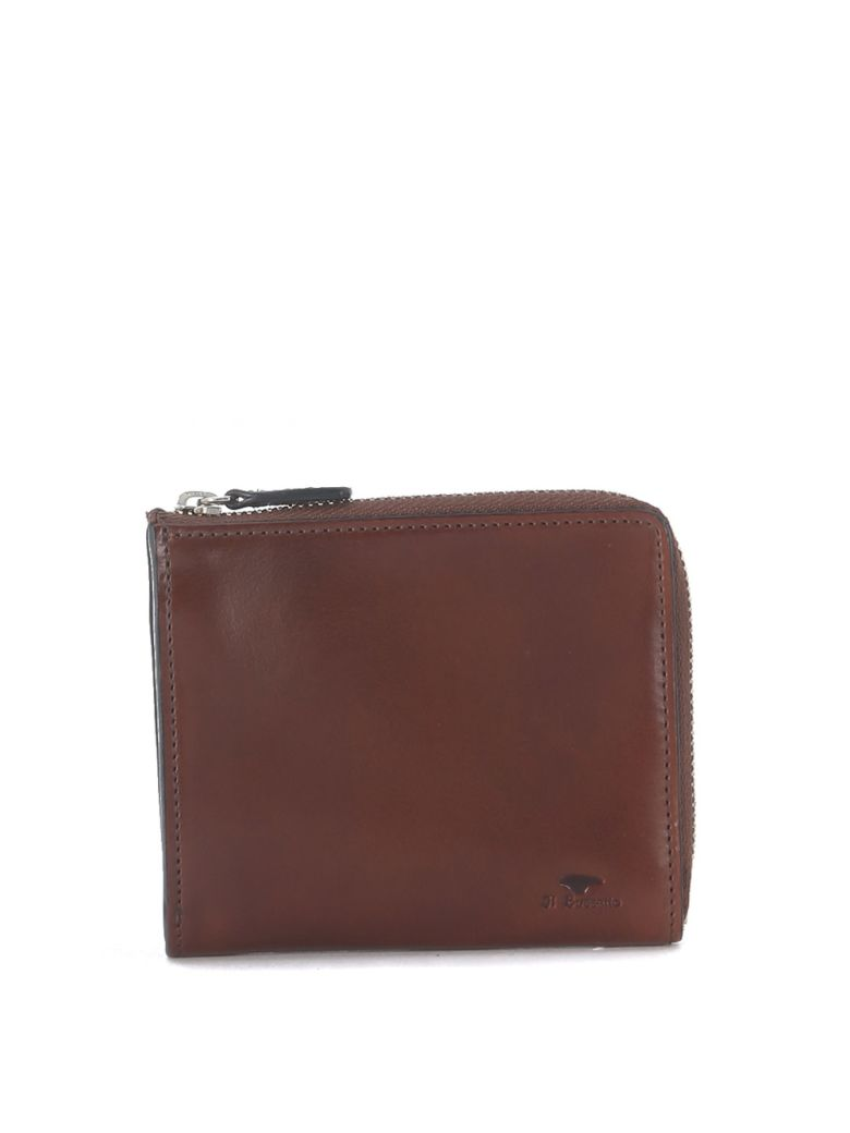 Il Bussetto Tuscan Hazelnut Leather Wallet - Brown
