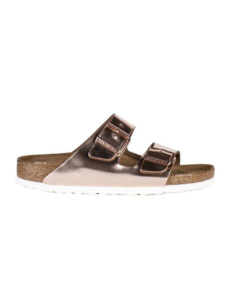Birkenstock Double Strap Sandals - Gold